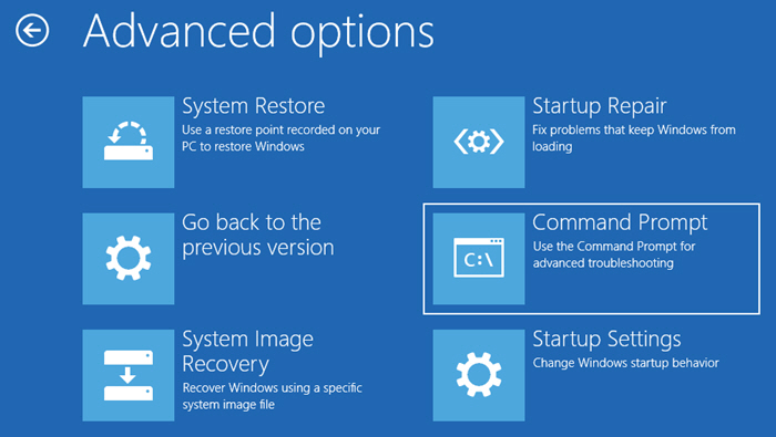 Select Command Prompt