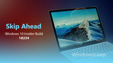 Build 18234 featured