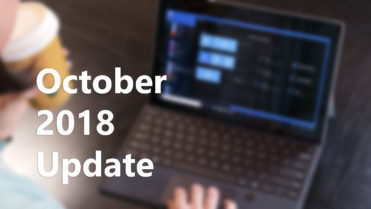 Windows 10 october 208 update