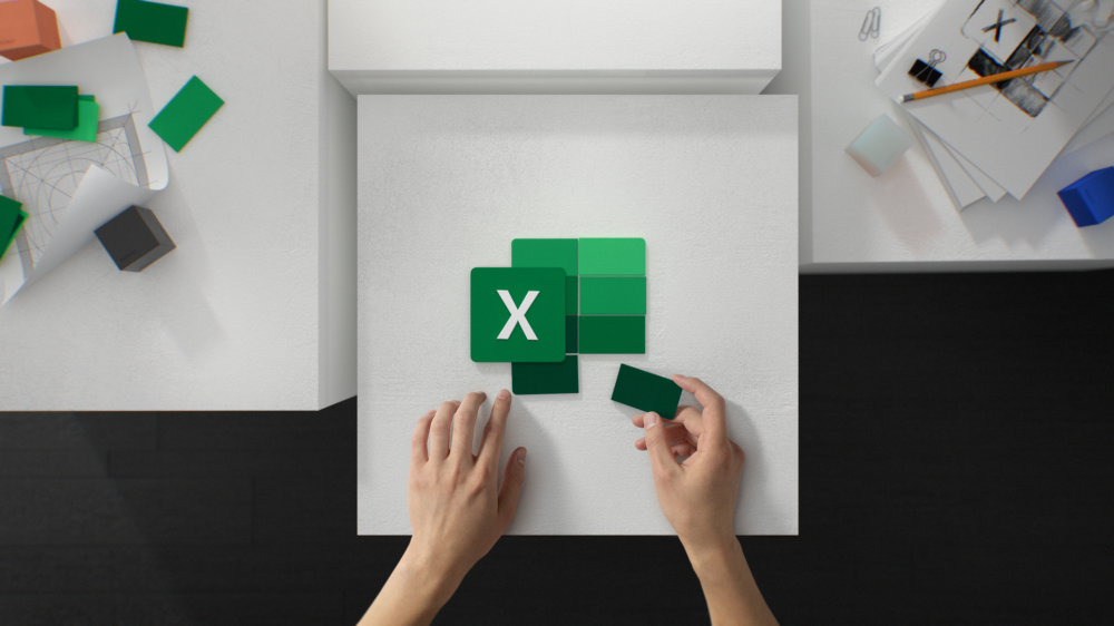 Microsoft office new excel icon