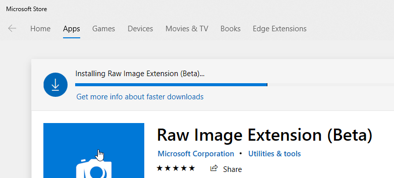 03 preview and open raw images on windows 10