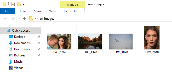 04 preview and open raw images on windows 10