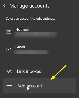 Add email account in mail app 06