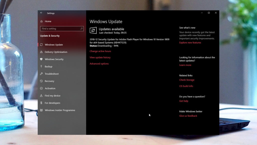 Check windows update size featured