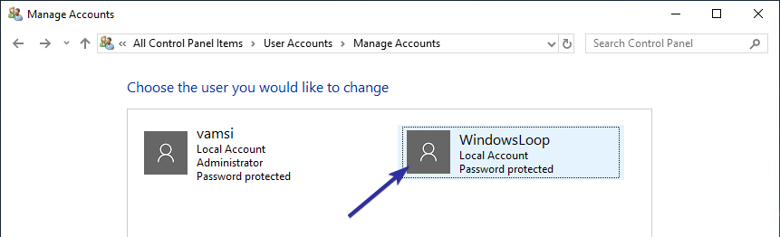 Delete user account windows 10 07