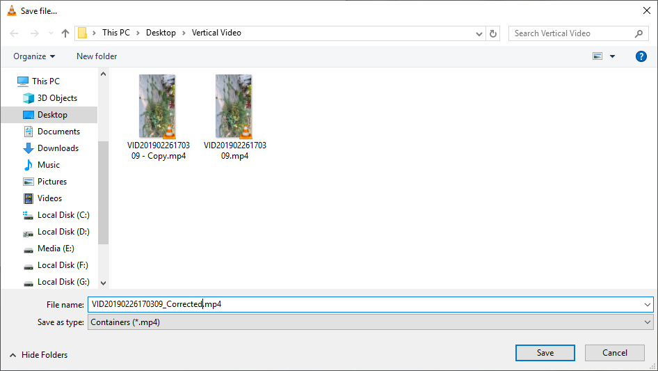 Rotate video in vlc 10