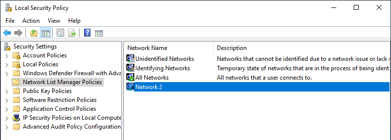 Windows 10 change network location type 07