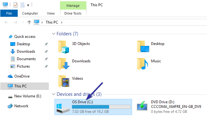 Windows 10 create recovery partition 01