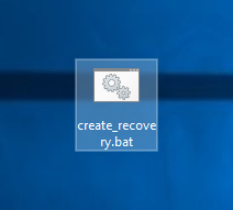 Windows 10 create recovery partition 13