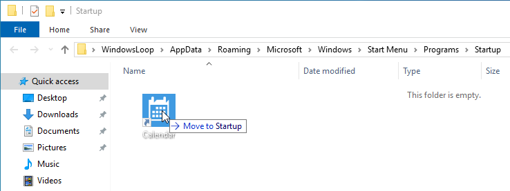 Add store app to startup 04