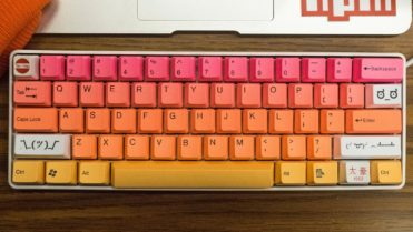 Coloful keyboard