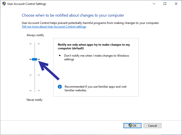 Disable uac prompt 05