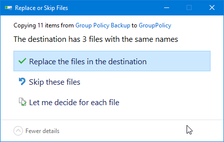 Restore group policy settings 06