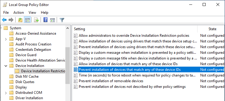 Stop graphics driver automatic installation 06