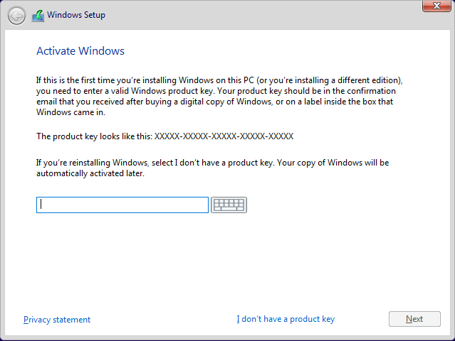 How to reinstall windows 10 with same key for free