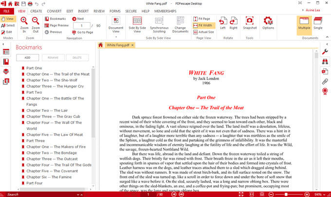 Windows pdf editor pdfescape
