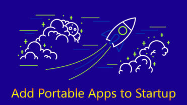 Add portable apps to startup featured