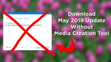 Download may 2019 iso without media creation tool featured