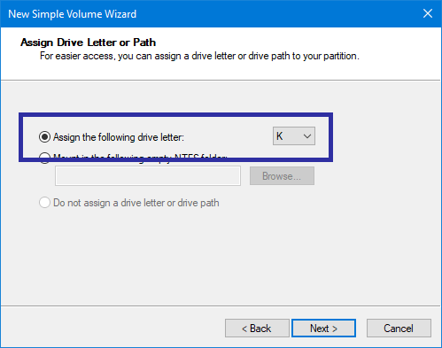 Partition usb drive in windows 08