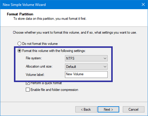 Partition usb drive in windows 09