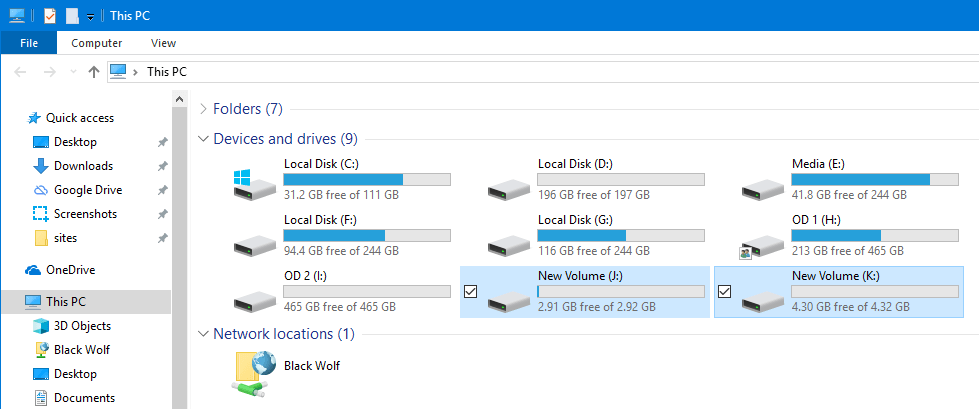 Partition usb drive in windows 15