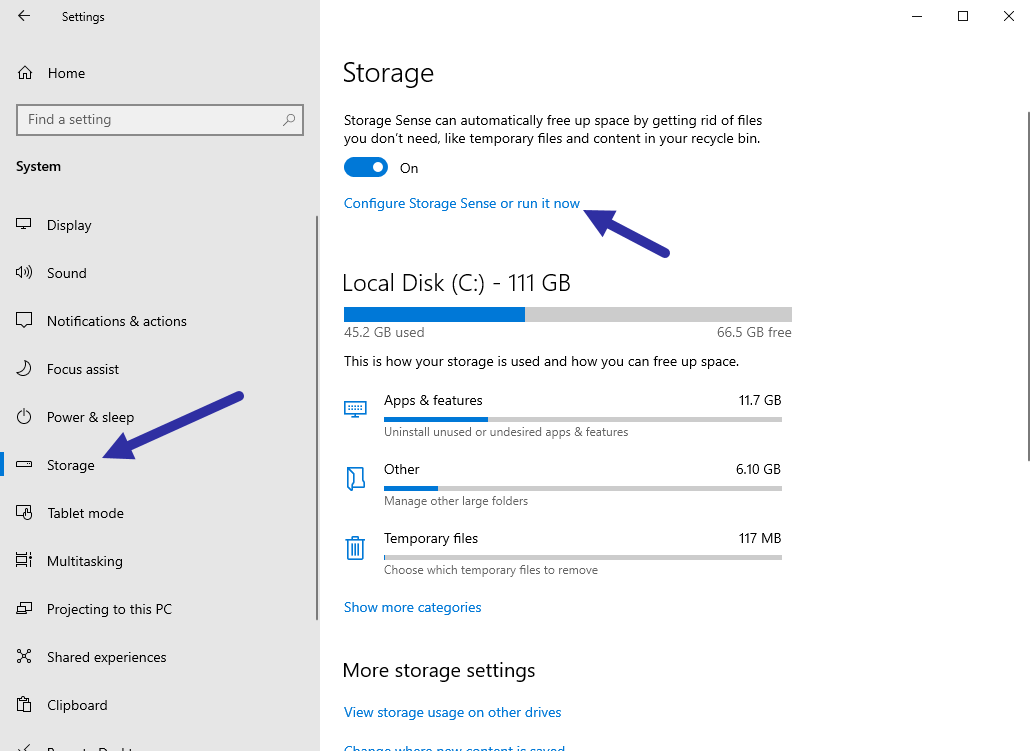 Delete previous windows installations step 01