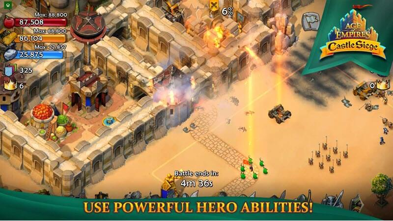 Free microsoft store game 06 age of empires castle siege
