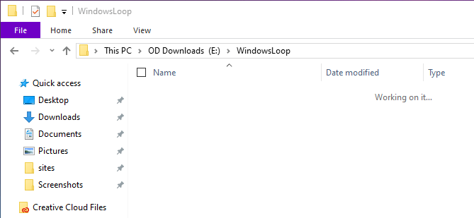 Cmd to force delete file - file deleted