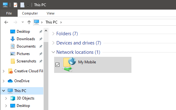 Windows 10 map ftp as drive - ftp mapped as network drive in file explorer