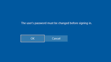 Win 10 force user to change password - featured