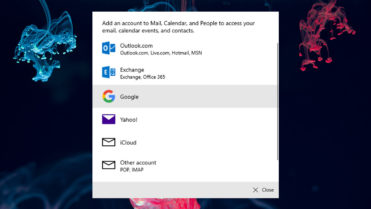 Connect gmail in win 10 mail app - featured