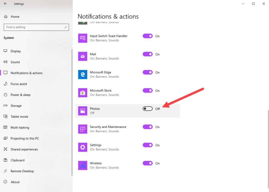 Turn-off-notifications-from-photos-app