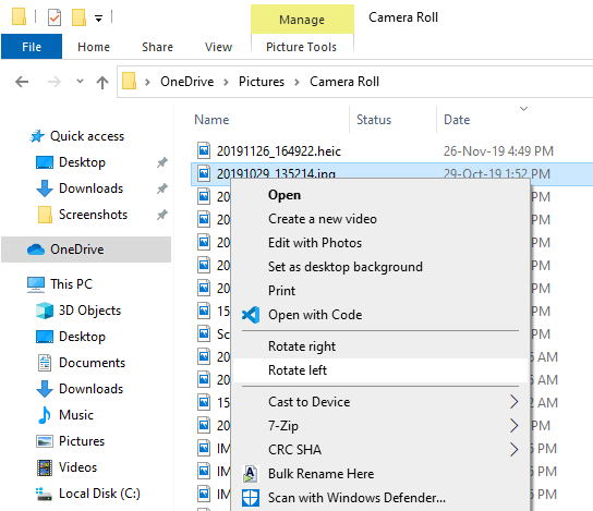 Clean-right-click-and-remove-uncessary-options-windows-item-removed-from-right-click-menu