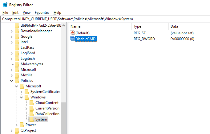 Disable-command-prompt-name-dword-value