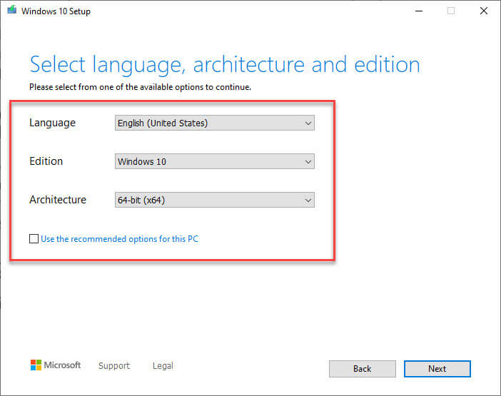 Download-windows-10-v1909-iso-select-options