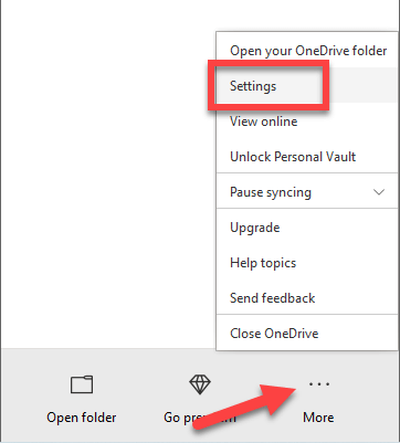 Access-pc-files-in-onedrive-select-settings