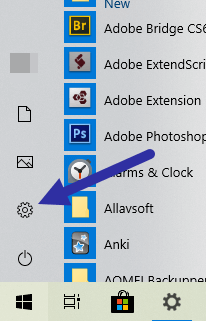 Mouse pointer ripple effect - settings
