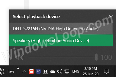 Select-audio-output-device-from-taskbar-260620-1