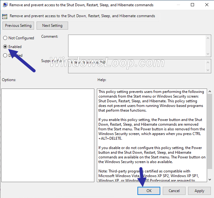 Enable-policy-to-remove-shutdown-button-210720
