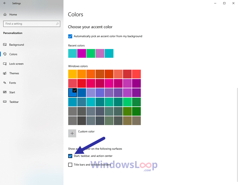 Change-taskbar-color-300820