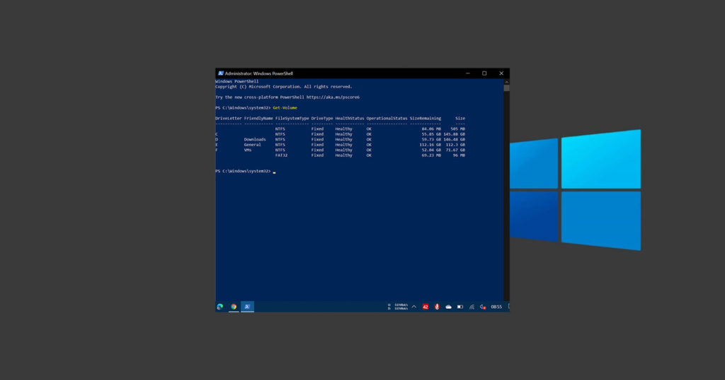 Powershell-partition-command-050121