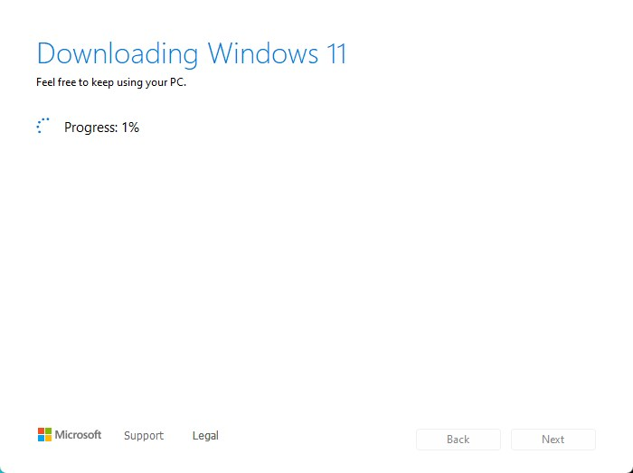 Windows 11 iso downloading with media creation tool